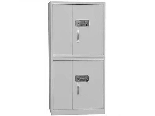 两层电脑保密柜